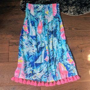 Lilly Pulitzer Hey Bay Bay Dress XS